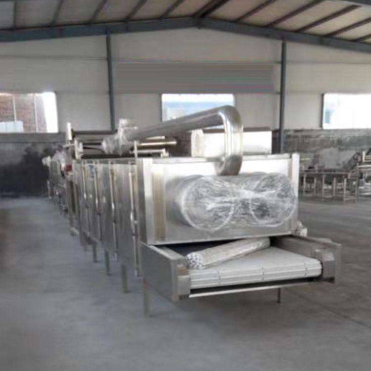 风干机 工厂直销果蔬风干流水线 双排风翻转式软包装清洗风干线