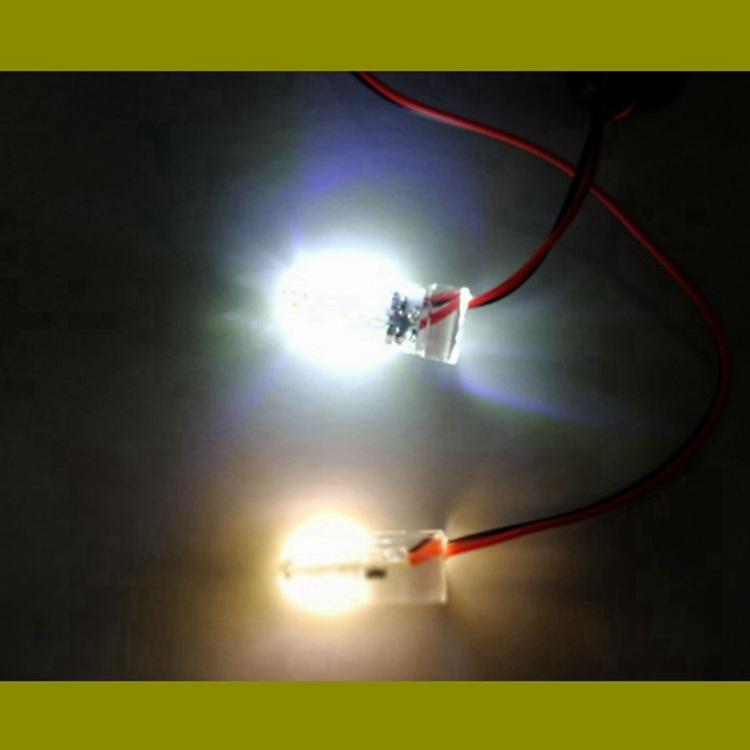 集鱼灯聚光灯水下下水灯网兜灯 水底灯5WLED灯 钓鱼灯12V黄光灯