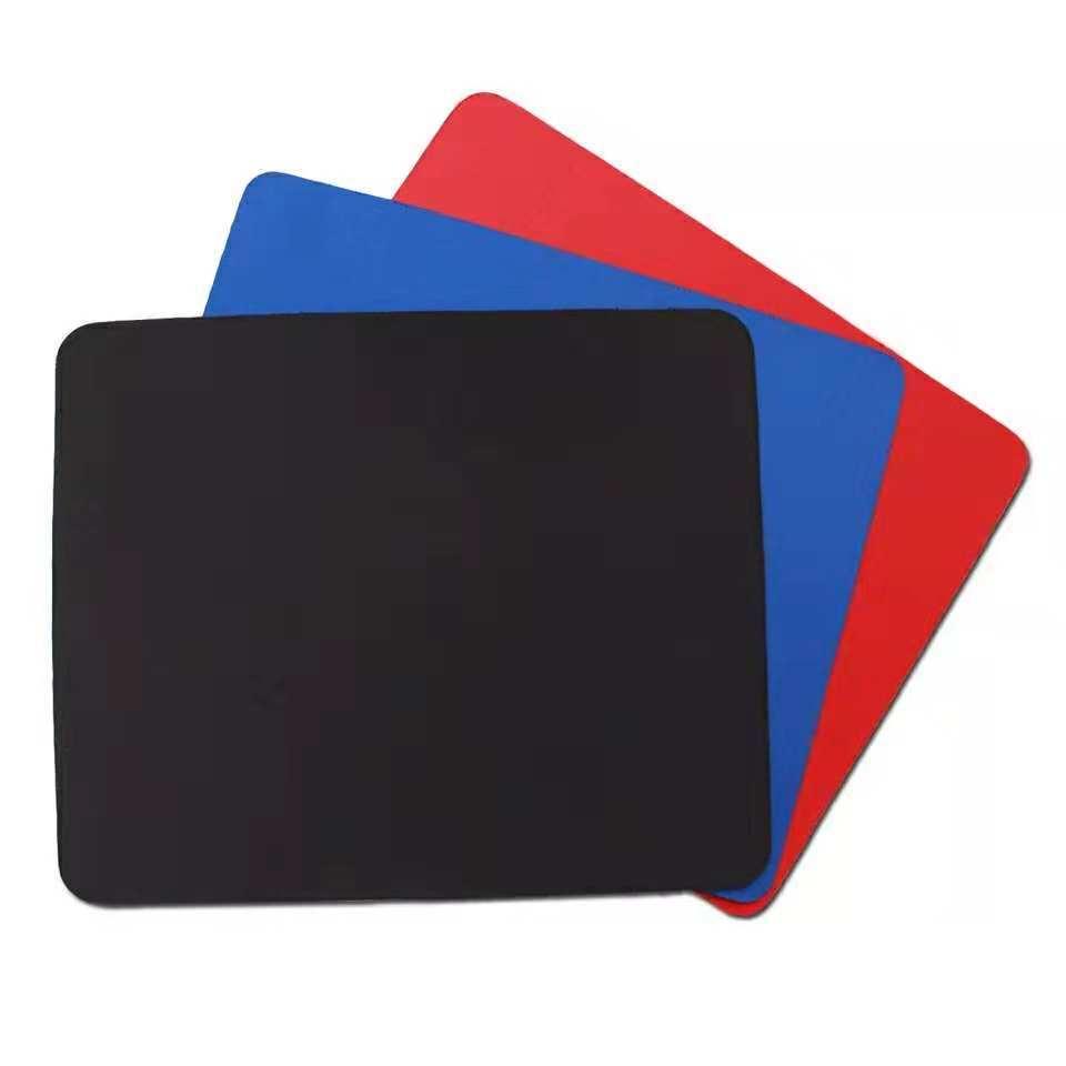厂家直销各种规格彩色 鼠标垫 商务办公鼠标垫瑜伽垫脚垫精密锁边