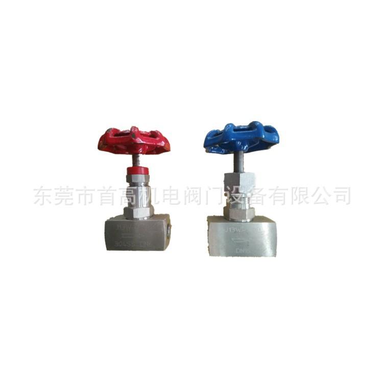 外螺纹带活接针型阀供应批量销售卡套式针型阀不锈钢材质专业生产