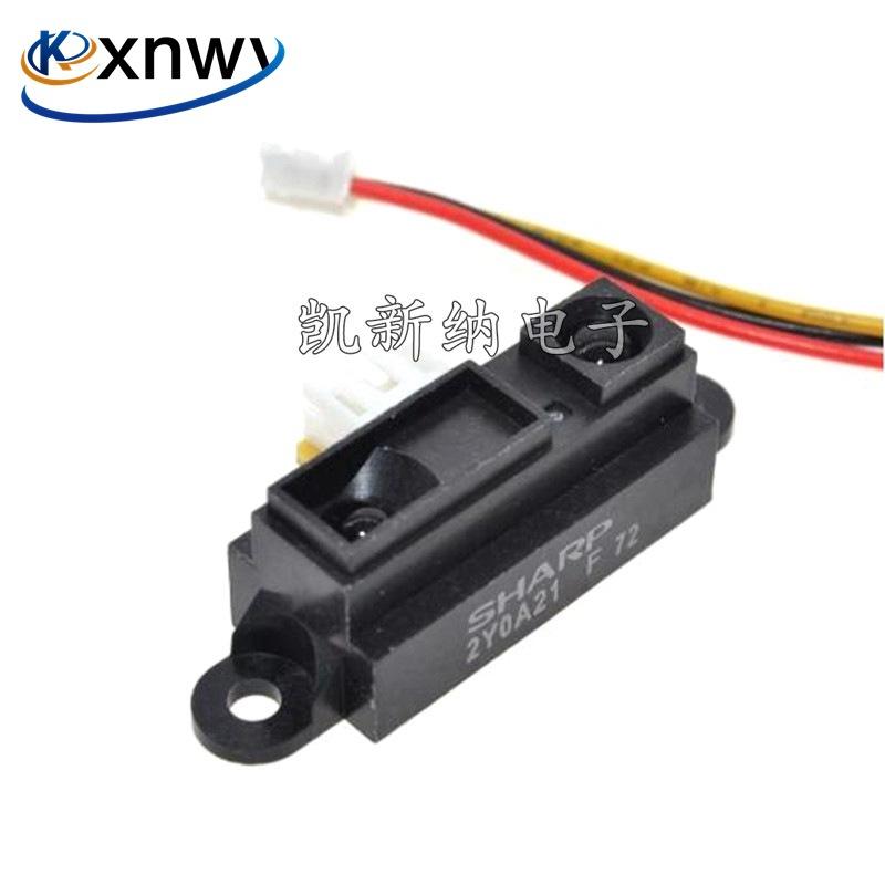 红外测距传感器模块GP2Y0A21YK0F 夏普SHARP进口量程10-80cm送线