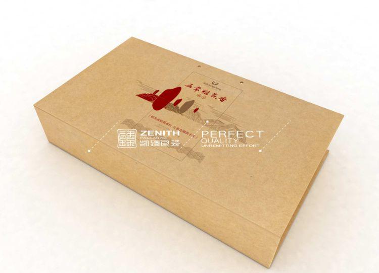 生产设计  精选五常稻花香长粒大米包盒  黑龙江有机水晶米包装盒