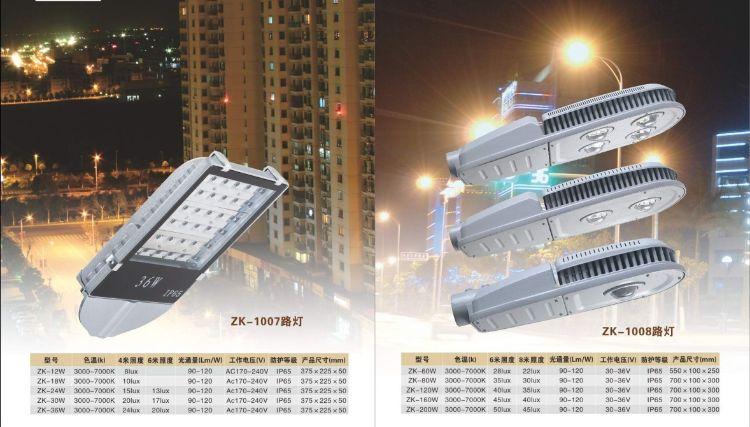 led路灯 亨德力led照明供应大功率晶元光源灯具灯头以及配件等