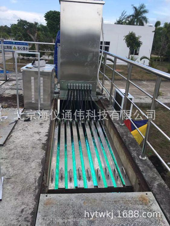 消毒灭菌器厂家  仪通供应污水处理专用明渠式紫外线消毒灭菌器 成套供应可定制