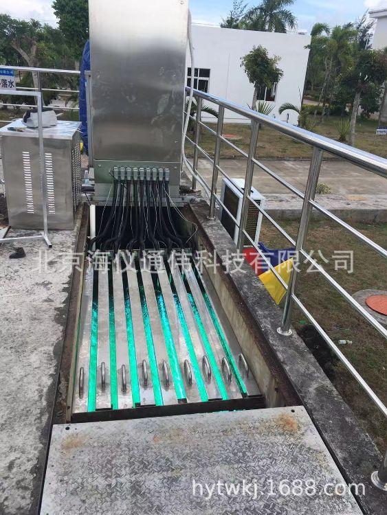 仪通污水处理紫外线消毒器明渠式模块式市政污水处理紫外线杀菌消毒器