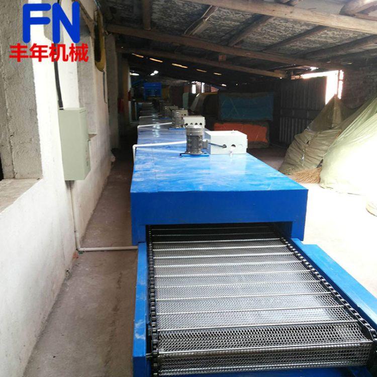 丰年 自动化隧道炉 热风循环烘干线隧道炉