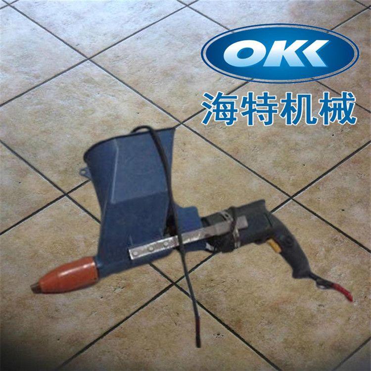 厂家供应 建筑工程手持式灌缝机 地下工程查缺补漏水泥填缝机
