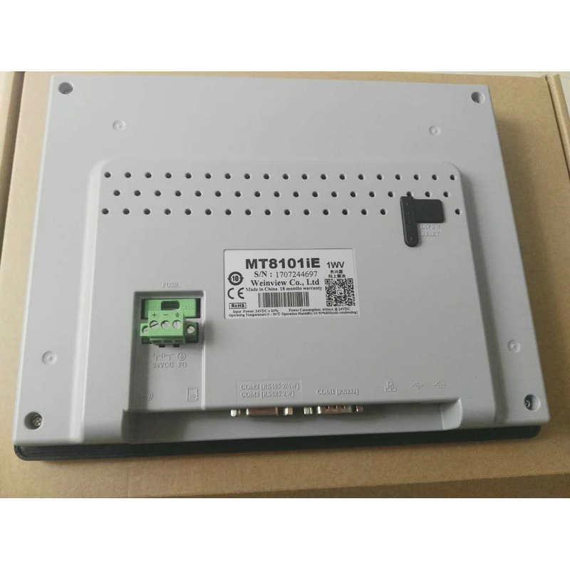新款供应 MT8101IE 10寸彩色威纶触摸屏 带网络接口