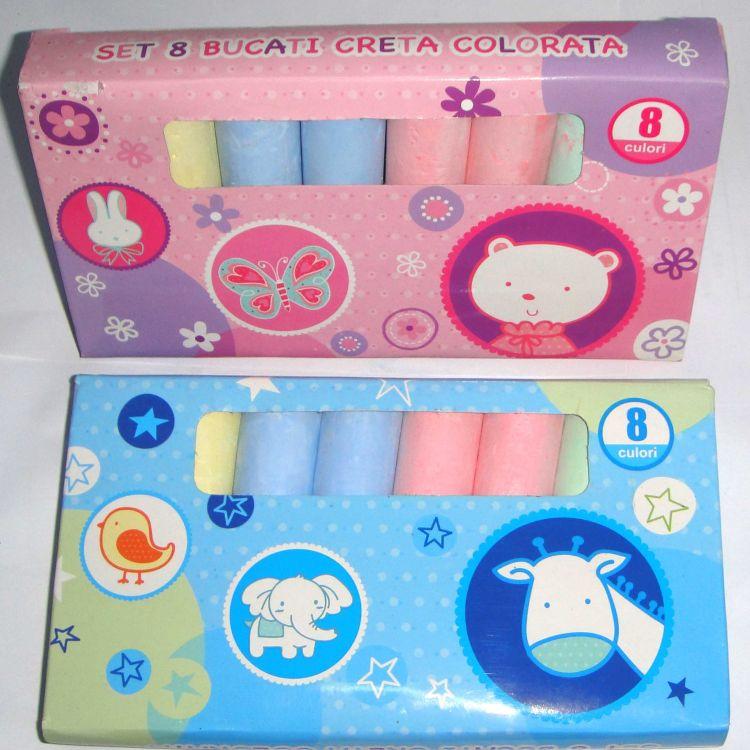8只彩盒装粉笔  厂家直销  出口欧美超市   过环保检测NE71-123