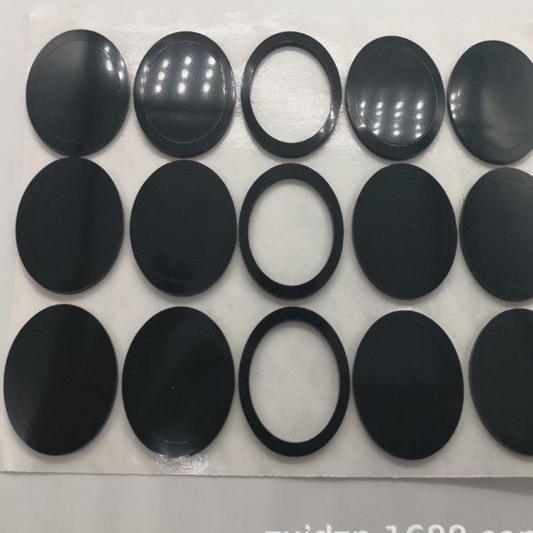 透明胶垫球形玻璃胶垫圆形硅胶垫片 防滑减震硅胶垫