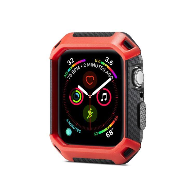 适用苹果apple watch四代手表保护套防摔iwatch4盔甲运动表壳