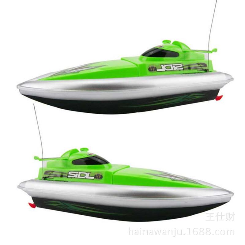 夏天热卖恒泰遥控船玩具海边户外玩耍亲子互动戏水遥控船玩具批发