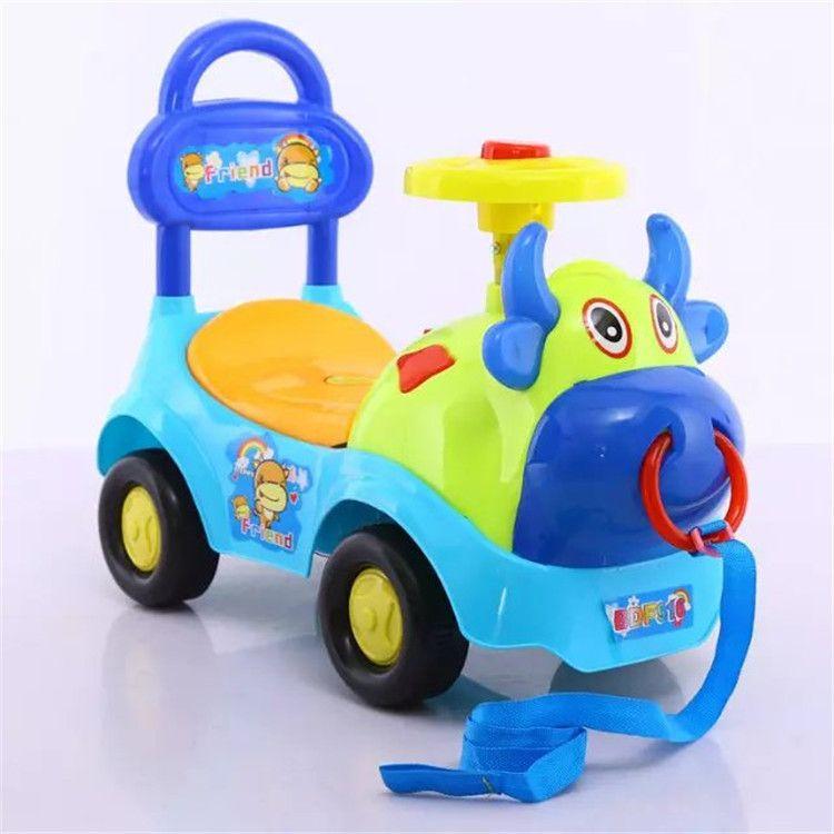 宝宝溜溜车扭扭车学步车滑行车儿童新款童车带音乐支持一件代发