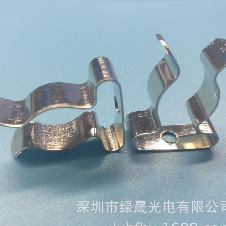 T5日光灯管夹T5卡扣 T5灯管安装夹子直径15MM 厂家直销