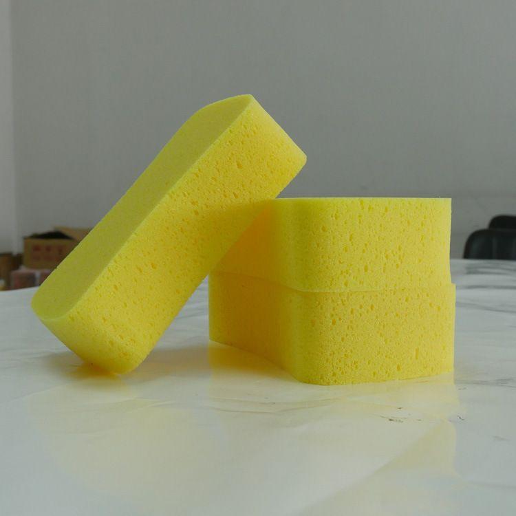 厂家直销耐用有弹性8字擦车海绵块 汽车洗车工具 高泡沫擦车棉