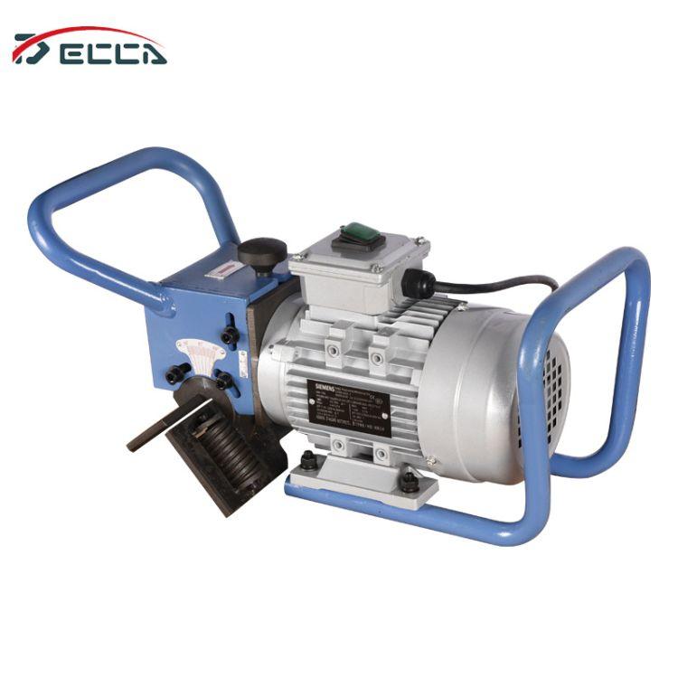手持式电动便携钢板平板坡口机管子倒角机碳钢坡口切边机角度可调