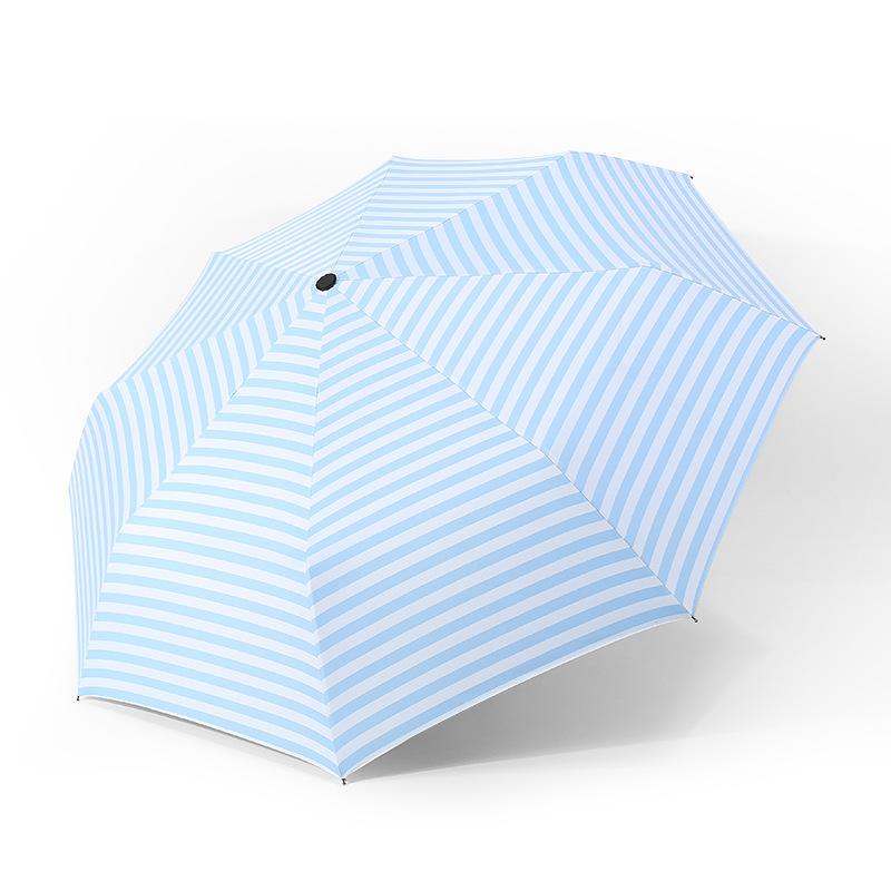2018年6月新品晴雨两用雨伞黑胶太阳伞防晒防紫外线女士折叠伞