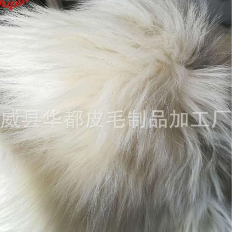 羊剪绒皮毛一体定制彩皮羔羊皮澳洲进口国产服装高档羊皮厂家直销