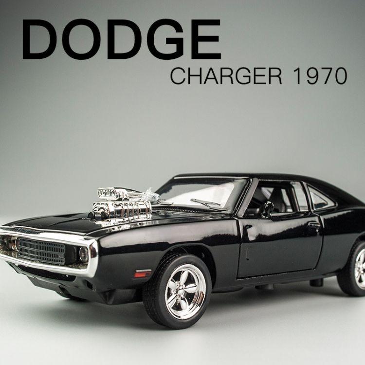 道奇莱肯跑车建元合金车模型 速度与激情1:32回力玩具车汽车模型批发厂家直销