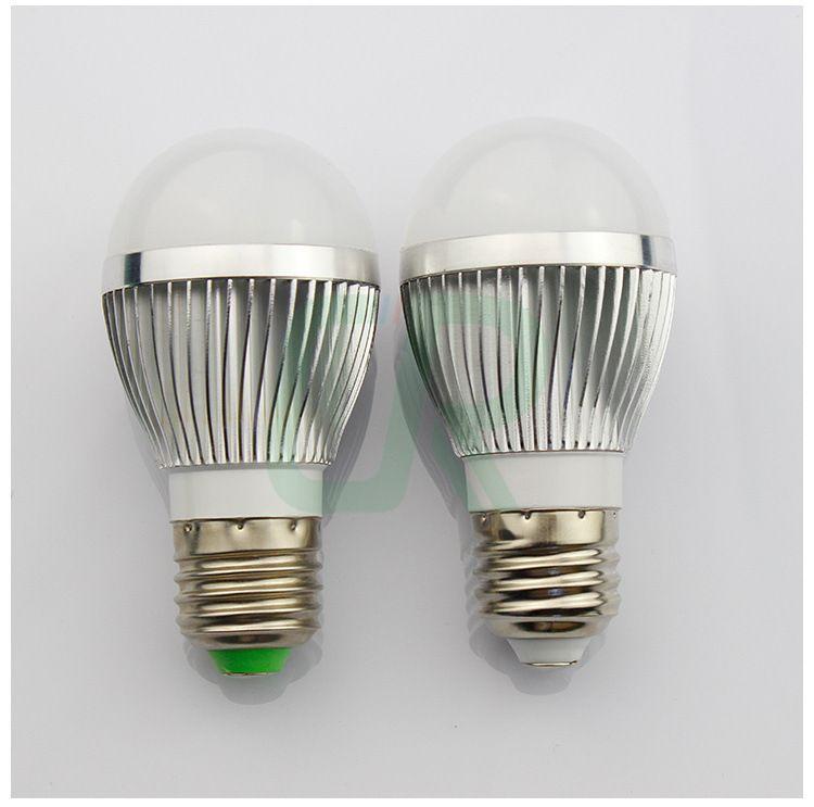 厂家直销 3w led球泡灯外壳 led球泡灯套件 车铝配件 球泡外壳