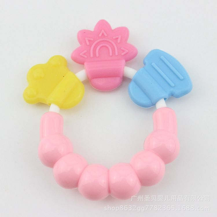 摇铃牙胶液态响铃 婴幼儿乳牙磨牙棒 乳牙固齿器厂家直供