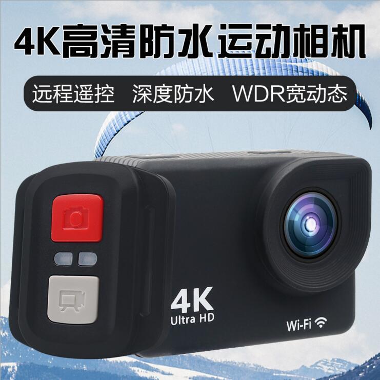 新款2.0寸双屏带触摸运动相机 WIFI  防水4K运动DV 摄像机