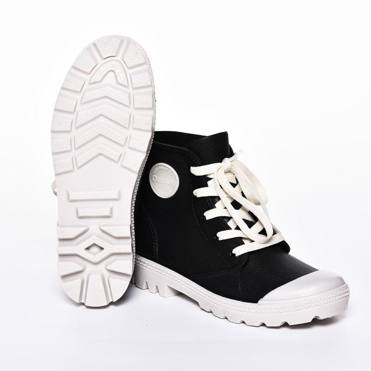 外贸定制马丁靴雨靴女款雨鞋系带时尚防滑雨鞋厂家直销