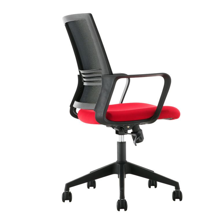 简约弓形背办公椅电脑椅休闲升降旋转人体工学网椅会议椅子职员椅