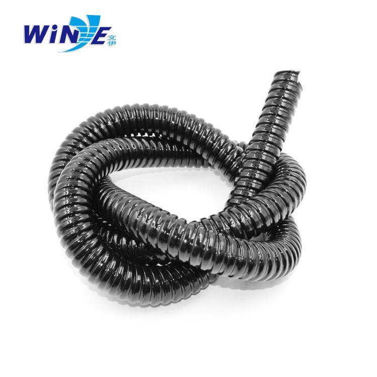 包塑金属软管穿线管 电线保护套管 蛇皮管塑料  波纹线软管