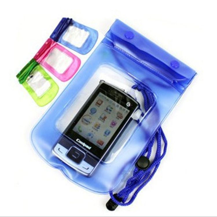 厂家直销手机防水袋 游泳潜水漂流接听电话拍照pvc防水袋批发