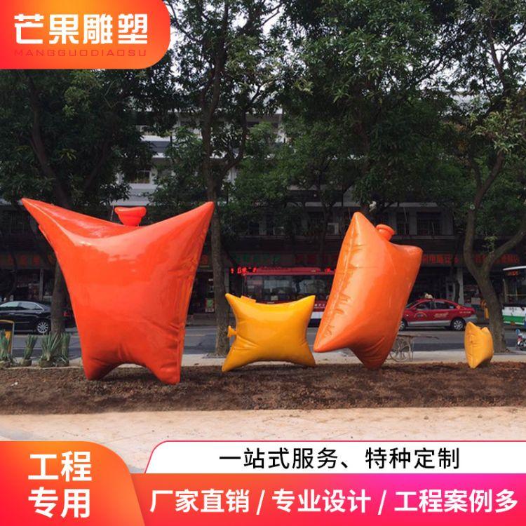 厂家直销 广场园林景观创意 大型艺术雕塑定制 商场门口装饰摆件