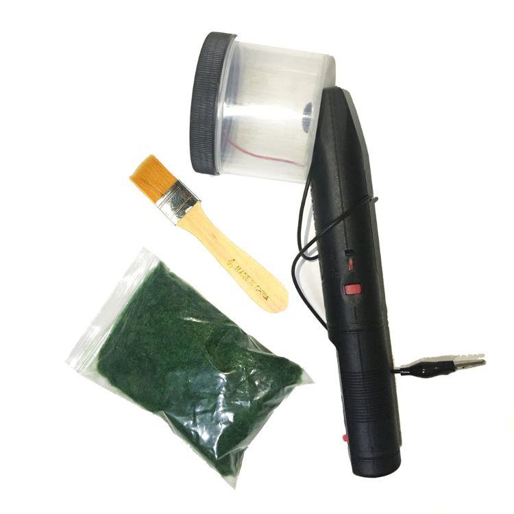 建筑沙盘模型工具静电植草器 工艺品植绒机 充电版静电植草机