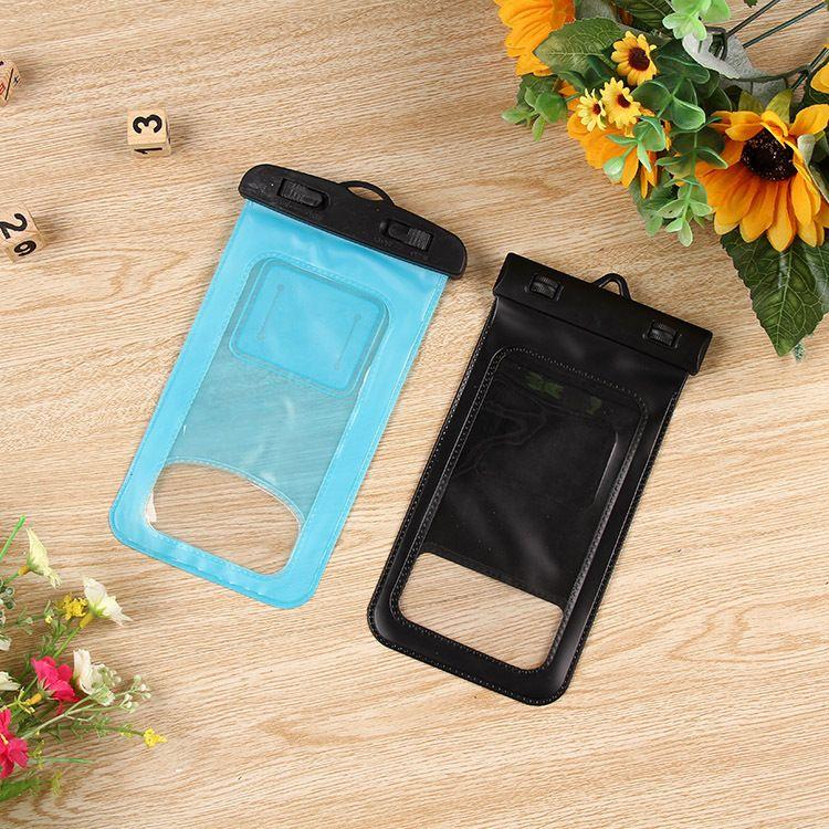 厂家供应 潜水游泳手机袋 环保PVC防水袋 透明手机防水袋品质保证