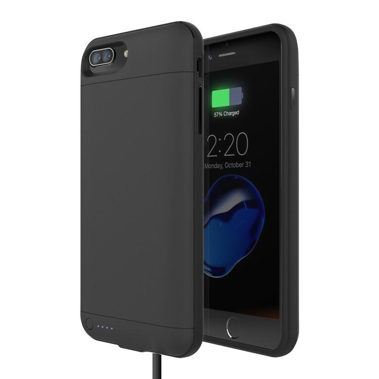 轻溥苹果专用背夹电池带3.5耳机孔保护苹果7手机