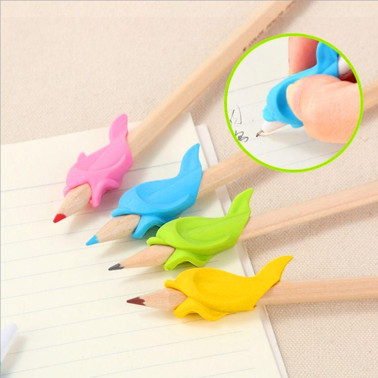 儿童硅胶握笔器矫正器 幼儿园小学生纠正写字握笔姿势中性笔用