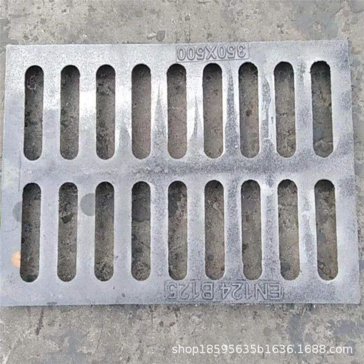 直销球墨铸铁套篦子 成品雨污水排水沟盖板 下水道专用雨水篦