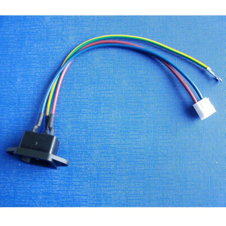 机电设备线束 多功能电子线束加工 汽车空调线束 UL镀锡铜机电线束