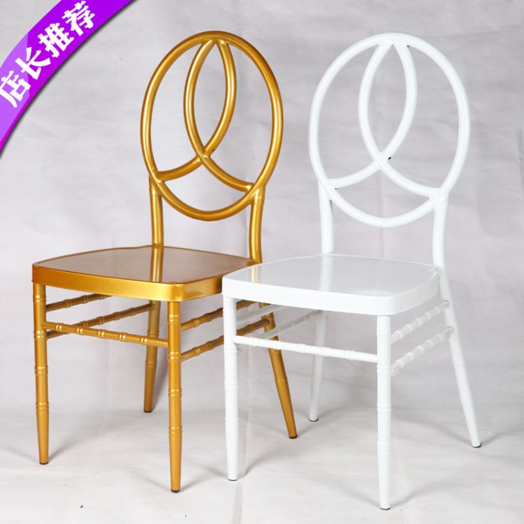 批发欧式婚庆椅婚礼婚庆椅金属竹节椅婚礼竹节椅时尚简约餐厅椅子