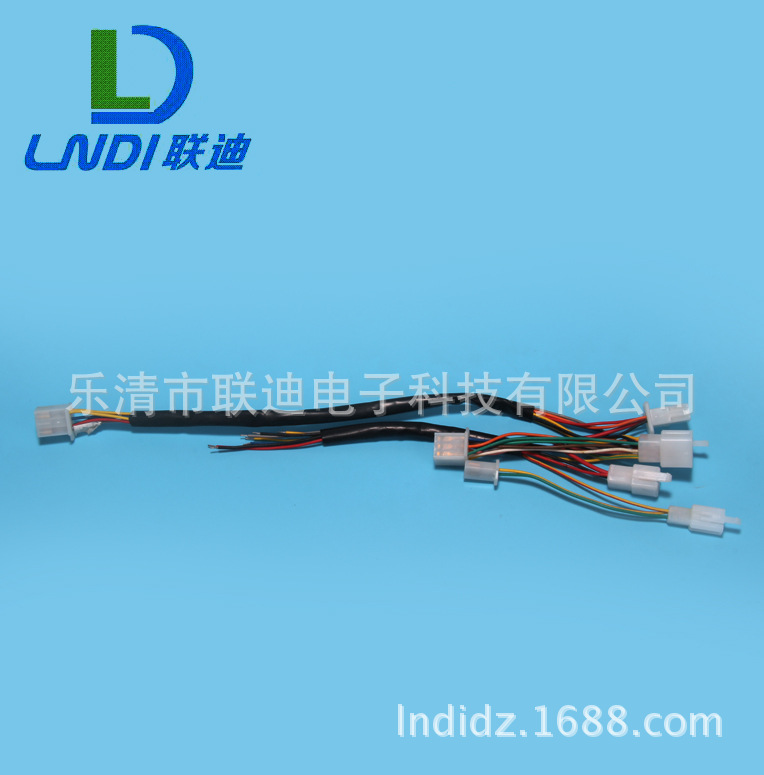 大量销售电池线束 进口接插件电池线束加工 汽车线束加工质量好