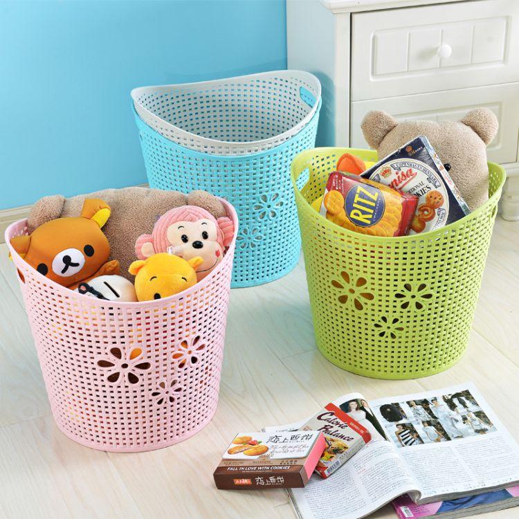 大小号塑料脏衣篮衣篓浴室洗衣篮家用玩具衣物收纳篮脏衣服收纳筐