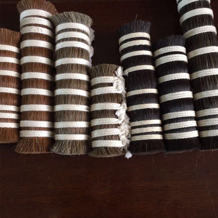 鬃尾制品厂家供应各种尺寸 颜色 牛尾 马鬃 马尾 质量好价格优