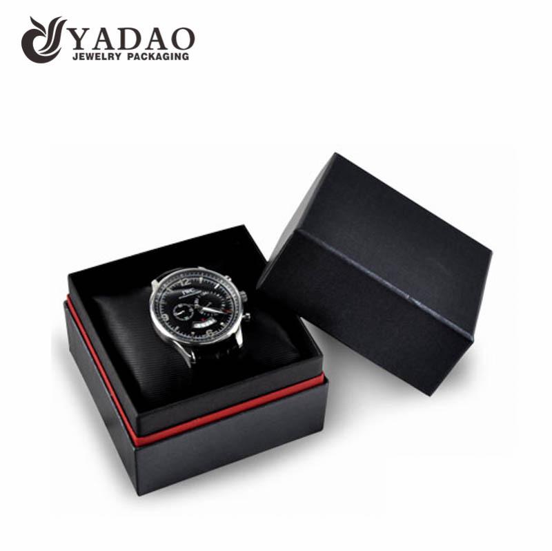 雅岛高档定制手表包装盒 高档PU手表盒子 时尚大气包装盒厂家直销