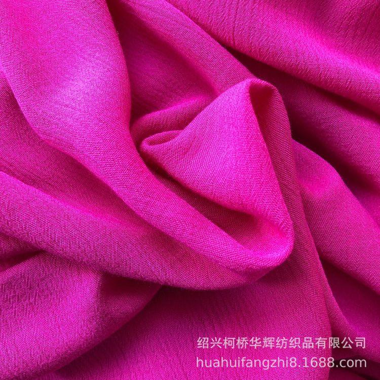 厂家直销  3024人棉绉布 顺纡绉 杨柳绉 衬衫连衣裙童装面料