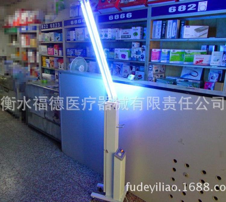 紫外线消毒灯车 江阴健仕福杀菌灯车ZXC-II 华益牌 30W灯管消毒