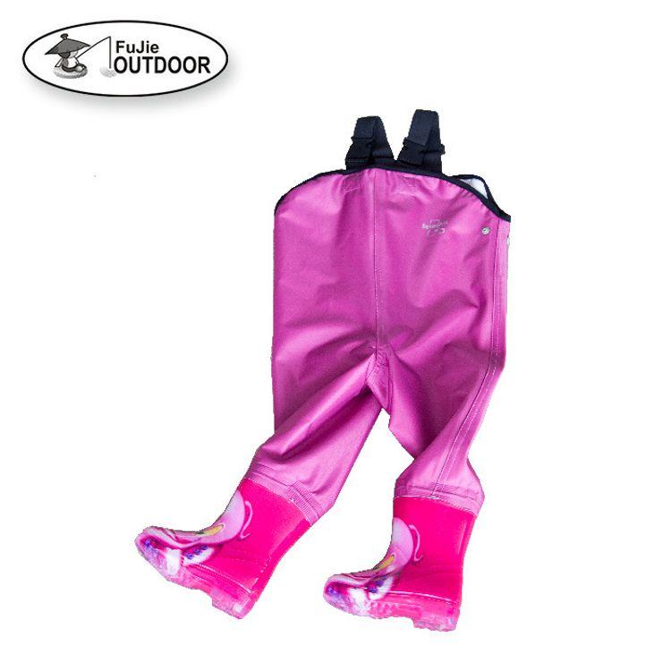 厂家直销 定制款 儿童塔丝绒下水裤 钓鱼裤