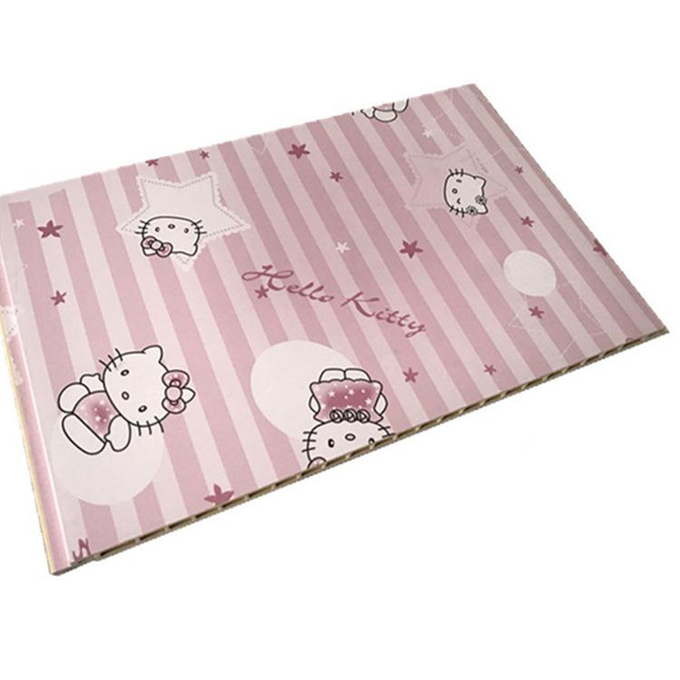 生态木厂家_环保壁纸集成墙板_300V缝竹木纤维装饰墙板
