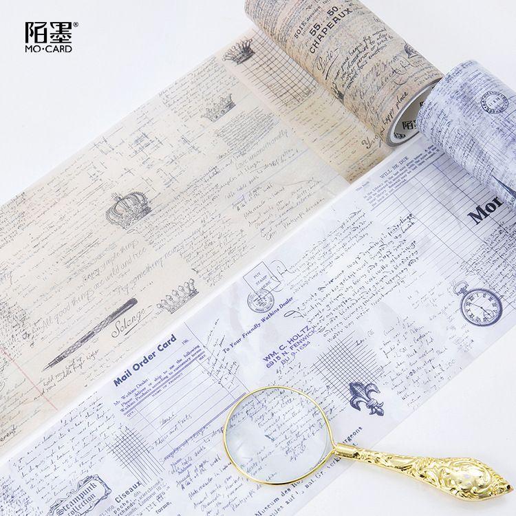 小清新彩色手帐和纸胶带古风相册口红贴纸装饰可撕纸胶带盒装