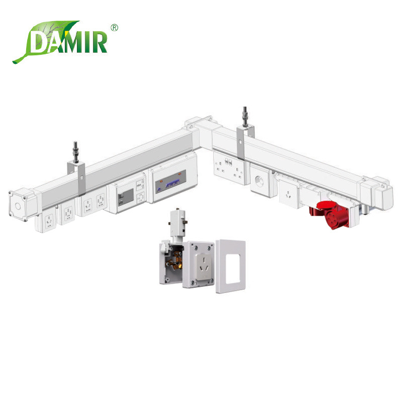【德玛电器】厂家直销III型塑管、铝合金照明、塑管照明母线 厂家直销