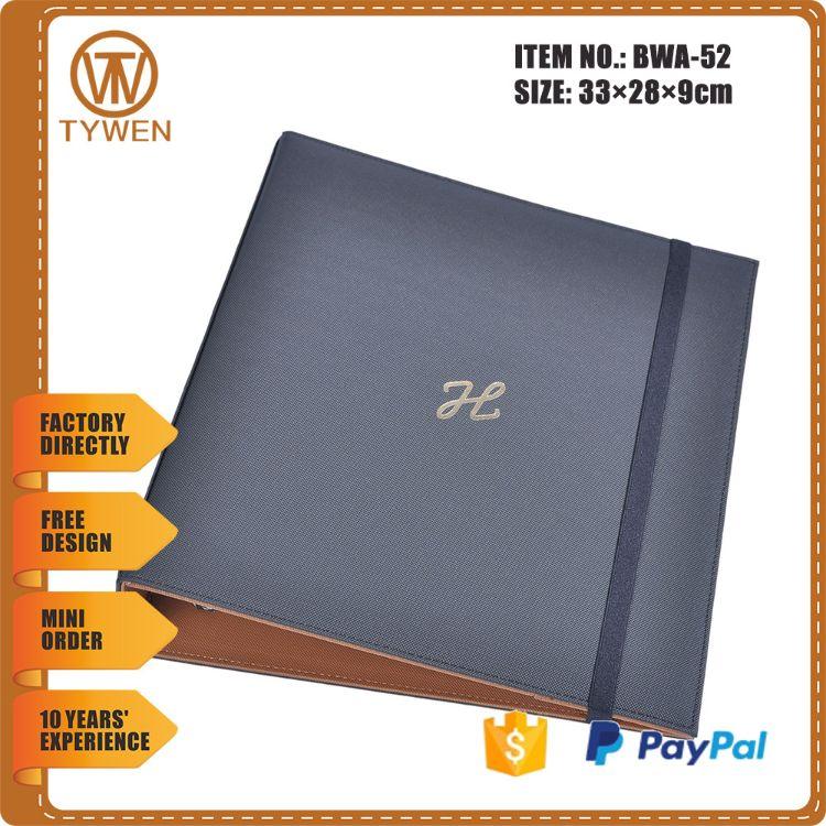 博文出售档案袋|多种尺寸文件袋供您选择|订制商务经理夹PU文件夹