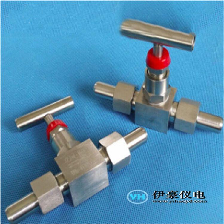 厂家供应不锈钢焊接针型阀/高压活接式焊接阀 一字柄高压截止阀